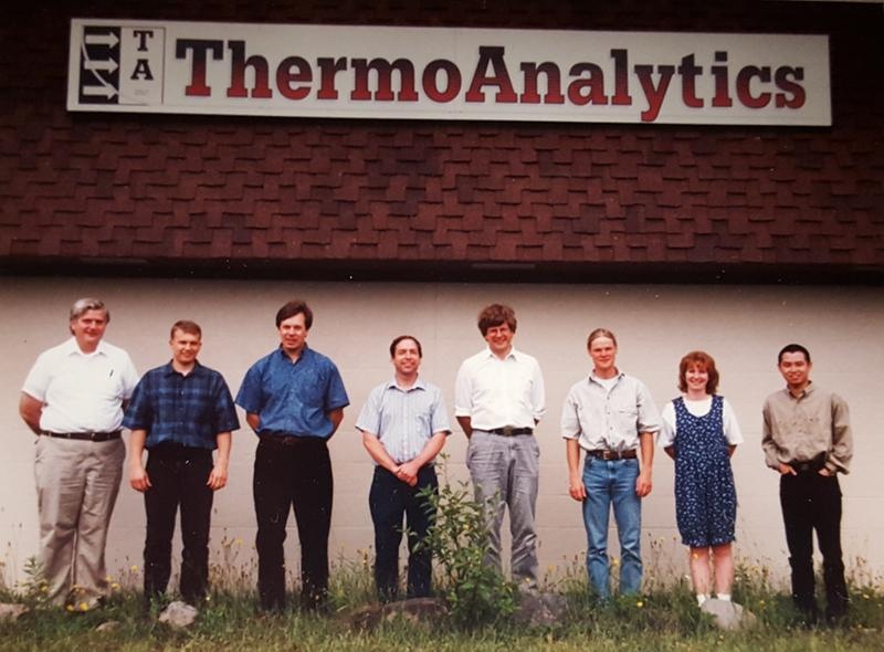 eight engineers under ThermoAnalytics sign